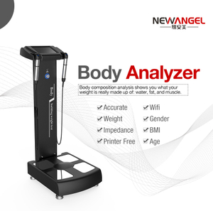body composition analyzer scale gym adult/youth smart wifi bluetooth large touch screen BMI