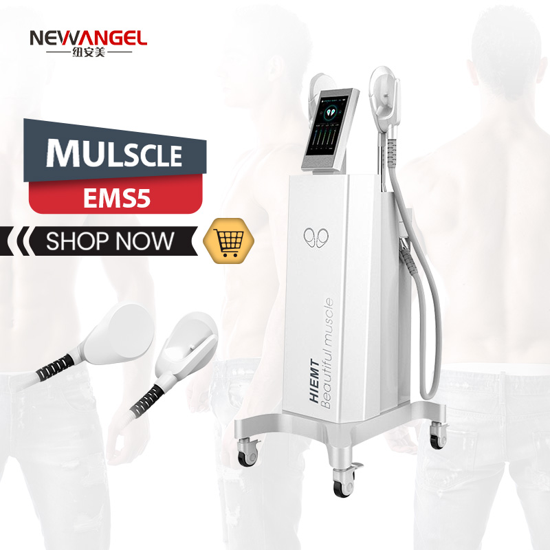 Emsculpt tesla hi-emt machine weight loss muscle building salon