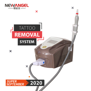 Laser tattoo removal black skin nd yag laser machine