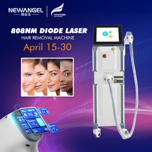 Intelligent system laser hair removal machine for salon spa use