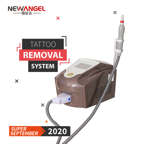 Tattoo removal places salon clinic q switch laser machine