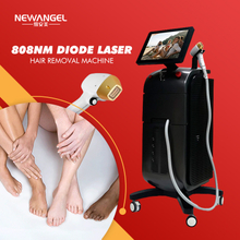 Laser hair removal machine 808nm diode micro channel Beauty salon permanent