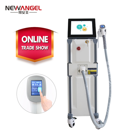 Permanent underarm hair removal diode laser machine for malaysian beauty salon