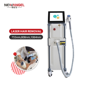 Diode Laser 808nm Hair Removal Machine 3 Wavelengths Soft Light Laser Hair Removal Skin Rejuvenation