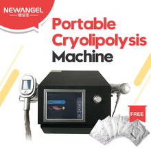 Cryolipolysis machine for quickly body slimming fat reduction