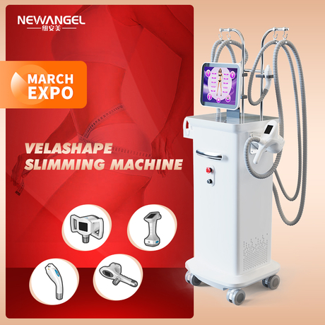 40k Ultrasonic Rf Vacuum Cavitation Equipment Professional Velashape Slimming Body Contouring for Clinic