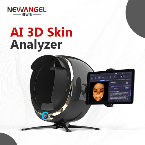 Newangel new coming smart mirror skin analysis