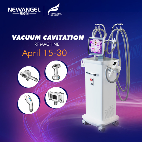 Rf Skin Tightening Vacuum Cavitation Equipment Newangel Hot Sale Professional Ce Approval Good Price Salon for Sale