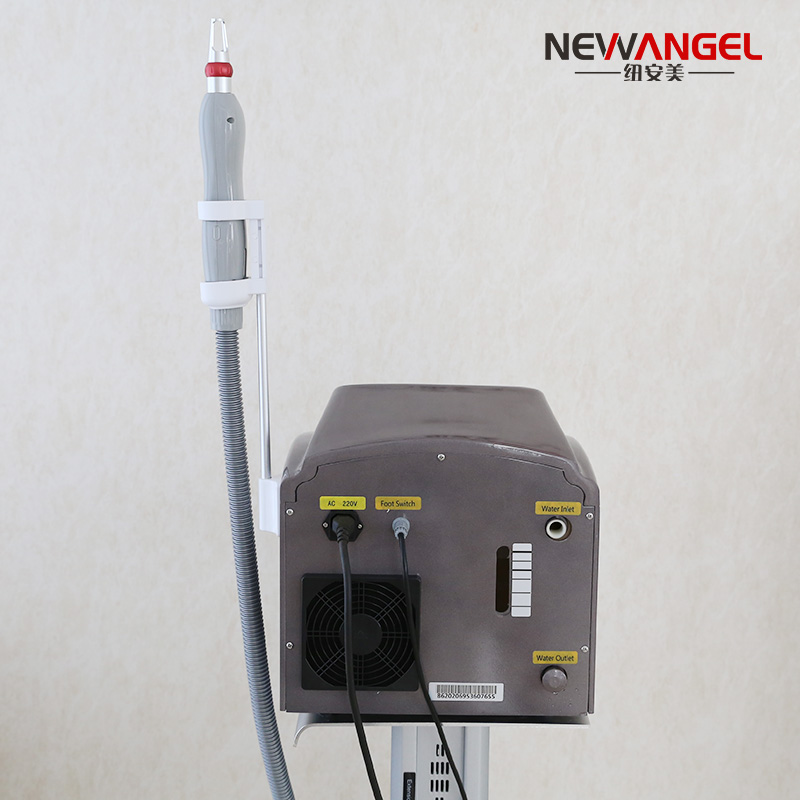 Getting a tattoo removed picosecond laser machine painless professional