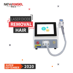 3 wavelength 1064 755 808NM machine portable 800w beard chest arm hair removal 20000000 shots