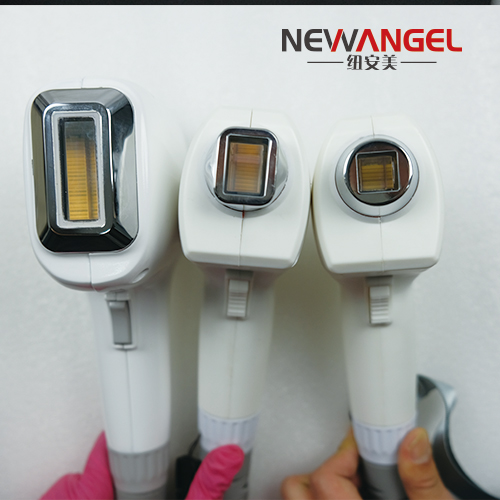 3 wavelengths machines hair removal laser with 2 handles