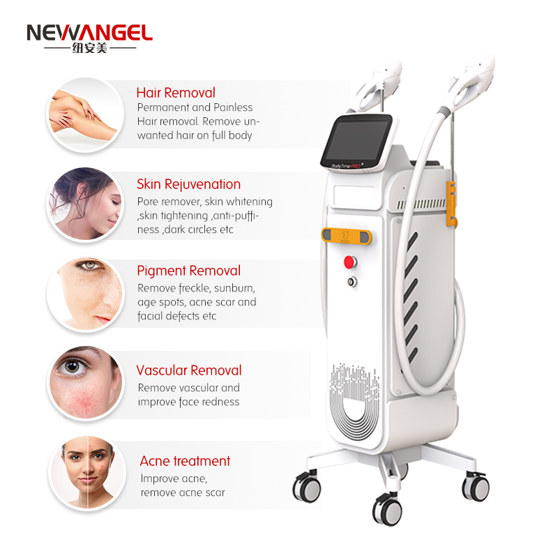 Elight opt dpl 3 in 1 ipl laser hair removal Medical CE approved Professional beauty machine