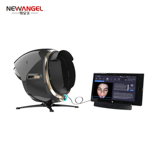 magic mirror skin analyzer machine Portable facial sensitive skin tester scanner diagnostic 3d face camera