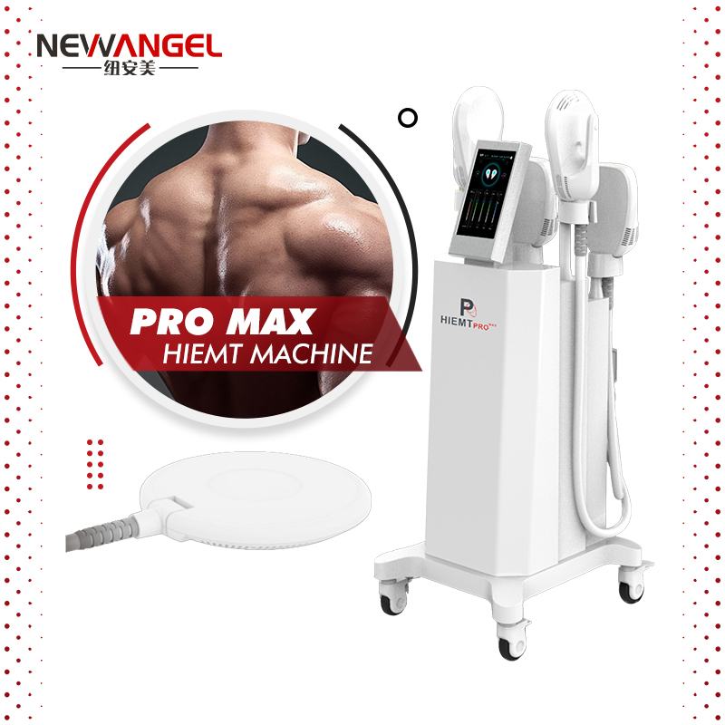 Electromagnetic Muscle Build Loss Weight Hiemt Pro 4 Handles Machine Hot Selling Ems Hiemt Body Shaping Butt Abdomen