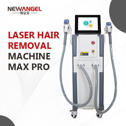 Diode laser hair removal machine professional 2 handles