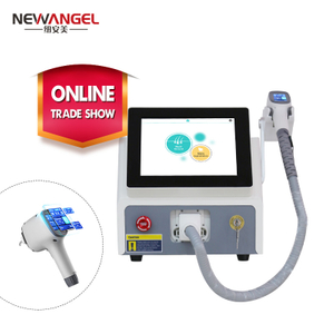 Dermatologist hair removal diode laser machine for face and body