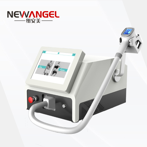 Hair removal system salon laser portable 3 wavelengths