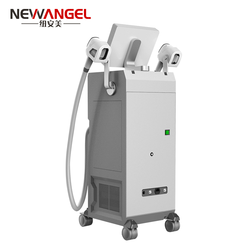 Best laser hair removal professional equipment with 2 handles