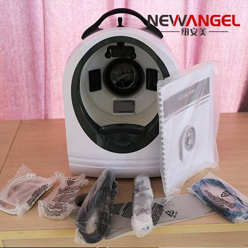 Best price facial analysis skin analyser machine with training