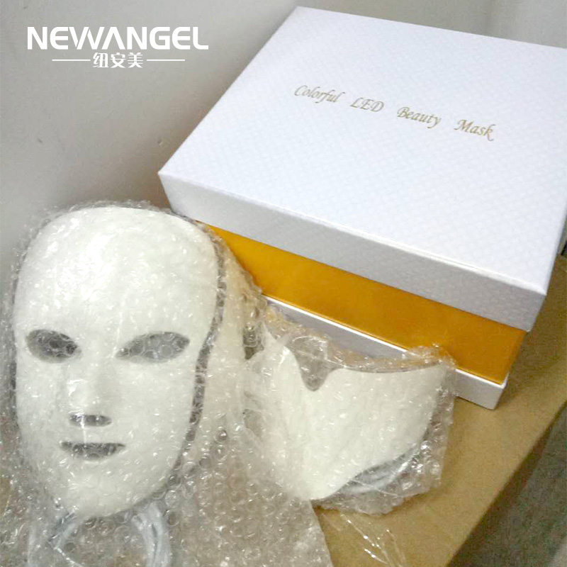 7 Colors Led Facial Machine Professional Salon Use 7 Color Light Therapy OEM ODM LOGO Skin Tightening Face Led