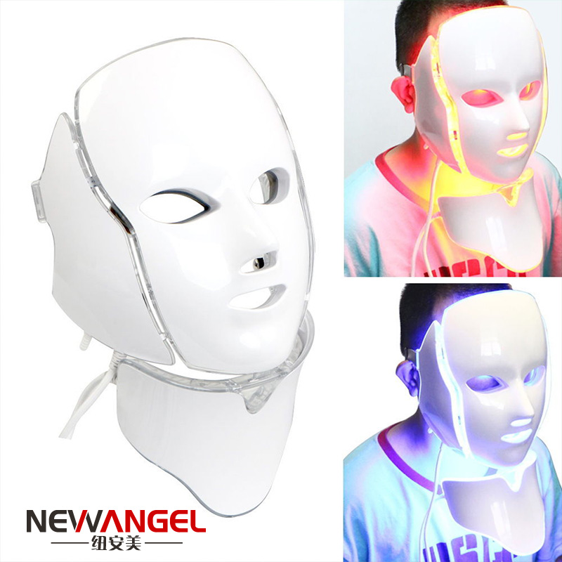 Led light therapy mask skin care anti aging for face neck FM8