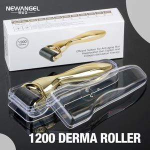 Dermaroller micro needle roller titanium needles face and body BM1200