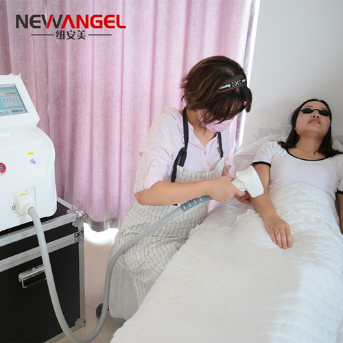 Best facial and body use latest laser hair removal machine