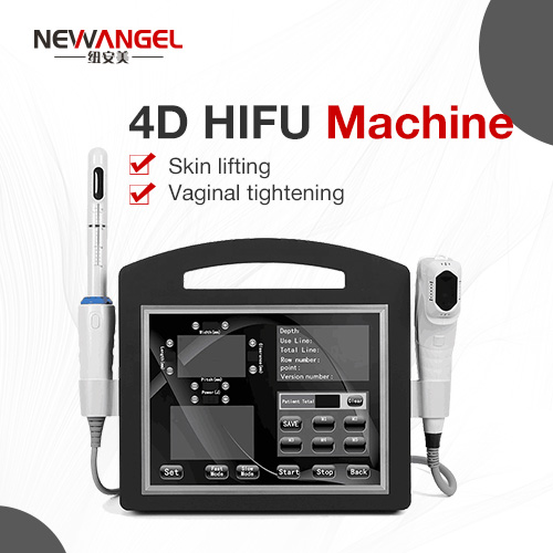 4D HIFU wrinkle removal vaginal tightening hifu machine for clinic