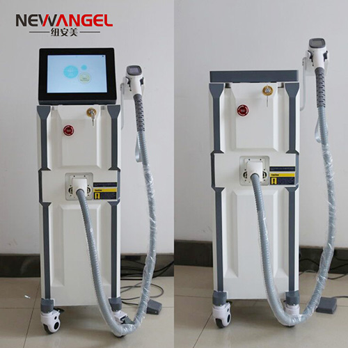 Laser hair removal machine for brown skin