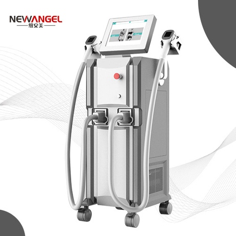 Newangel laser hair removal professional machine with 4 sopt size