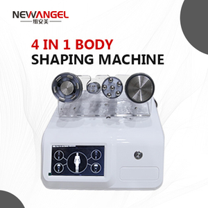 Skin lifting anti aging rf machine with 4 handles whole body use