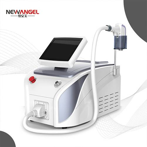 Diode 808nm 755nm 1064nm laser hair removal machine with cooling